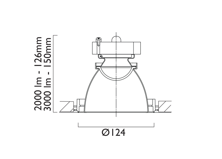 VPX124 Line Drawing